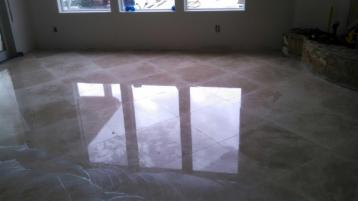After Tile Polishing by J2 Cleaning Las Vegas